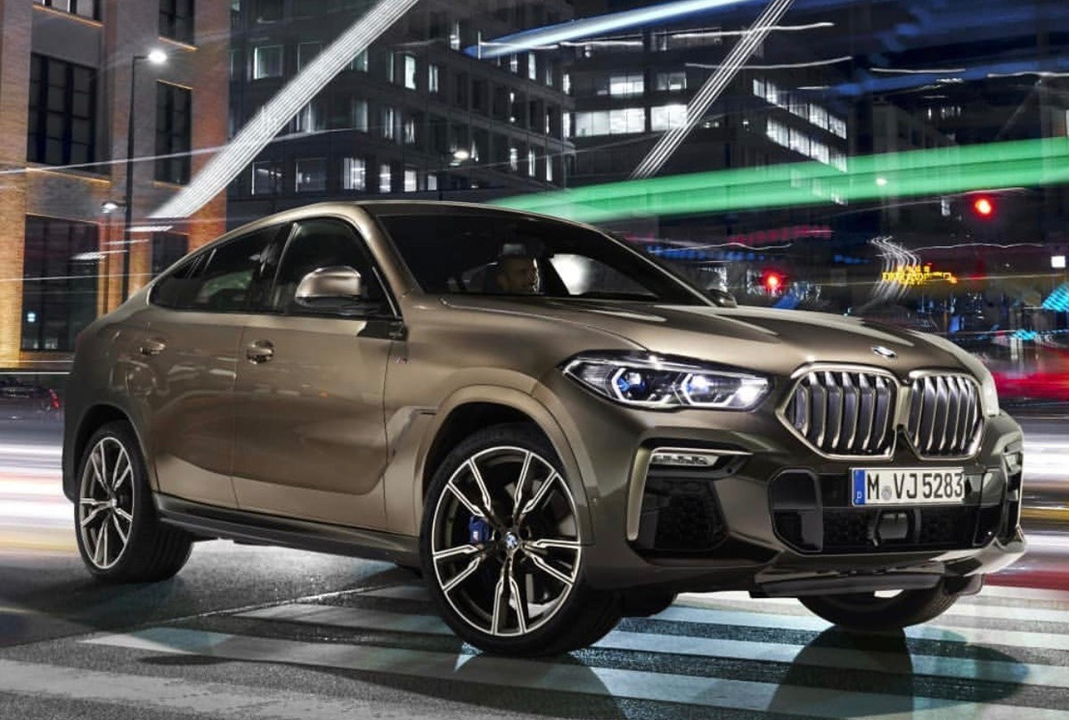 G06 BMW X6 officially teased ahead of global debut