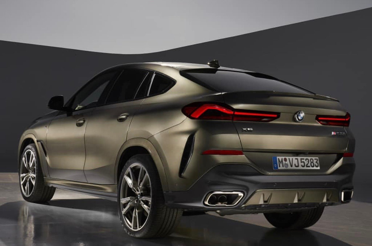 BMW X6: Svelte Crossover Gets Big Upgrades