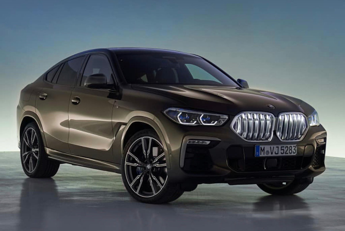BMW X6 Arrives With V8 And RWD Power