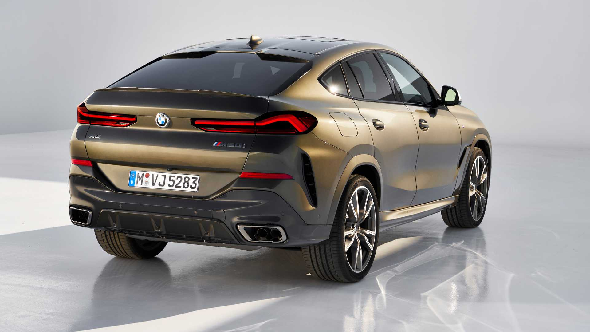 2020 bmw x6 officially revealed  available with illuminated kidney grille