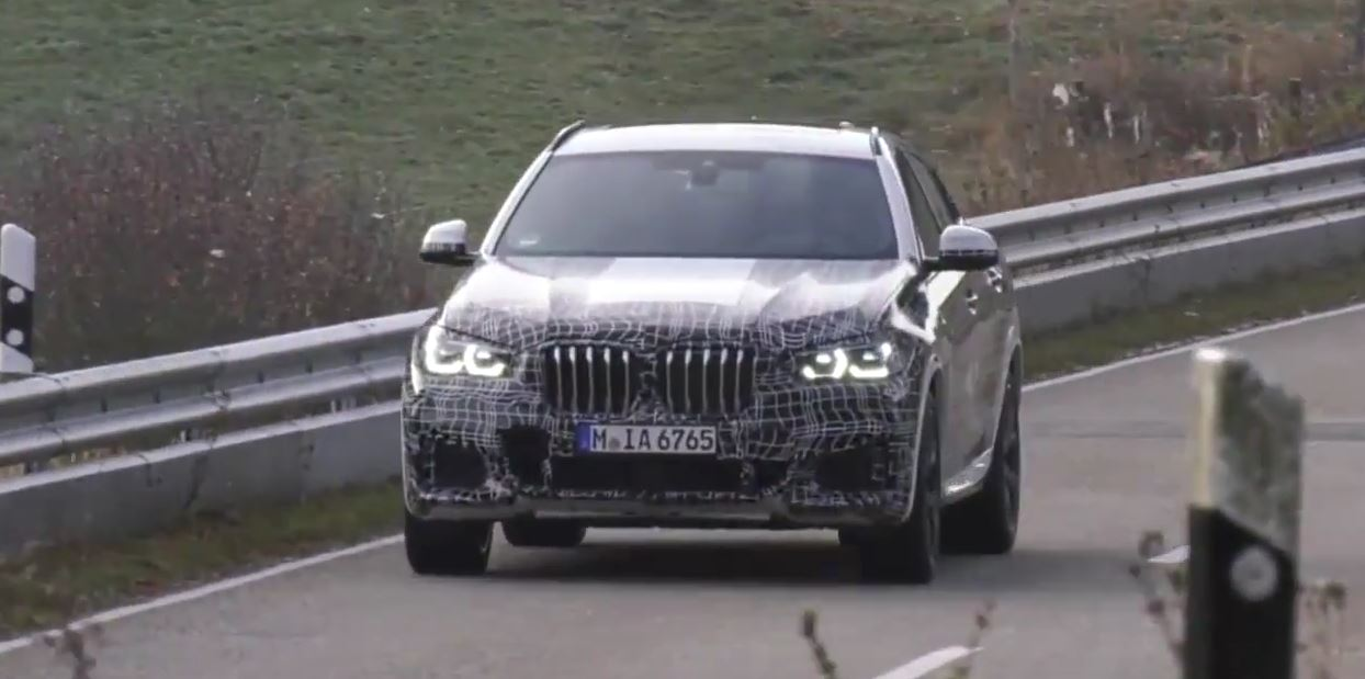 2020 Bmw X6 Starts To Strip X6 M Shows Aggressive Styling