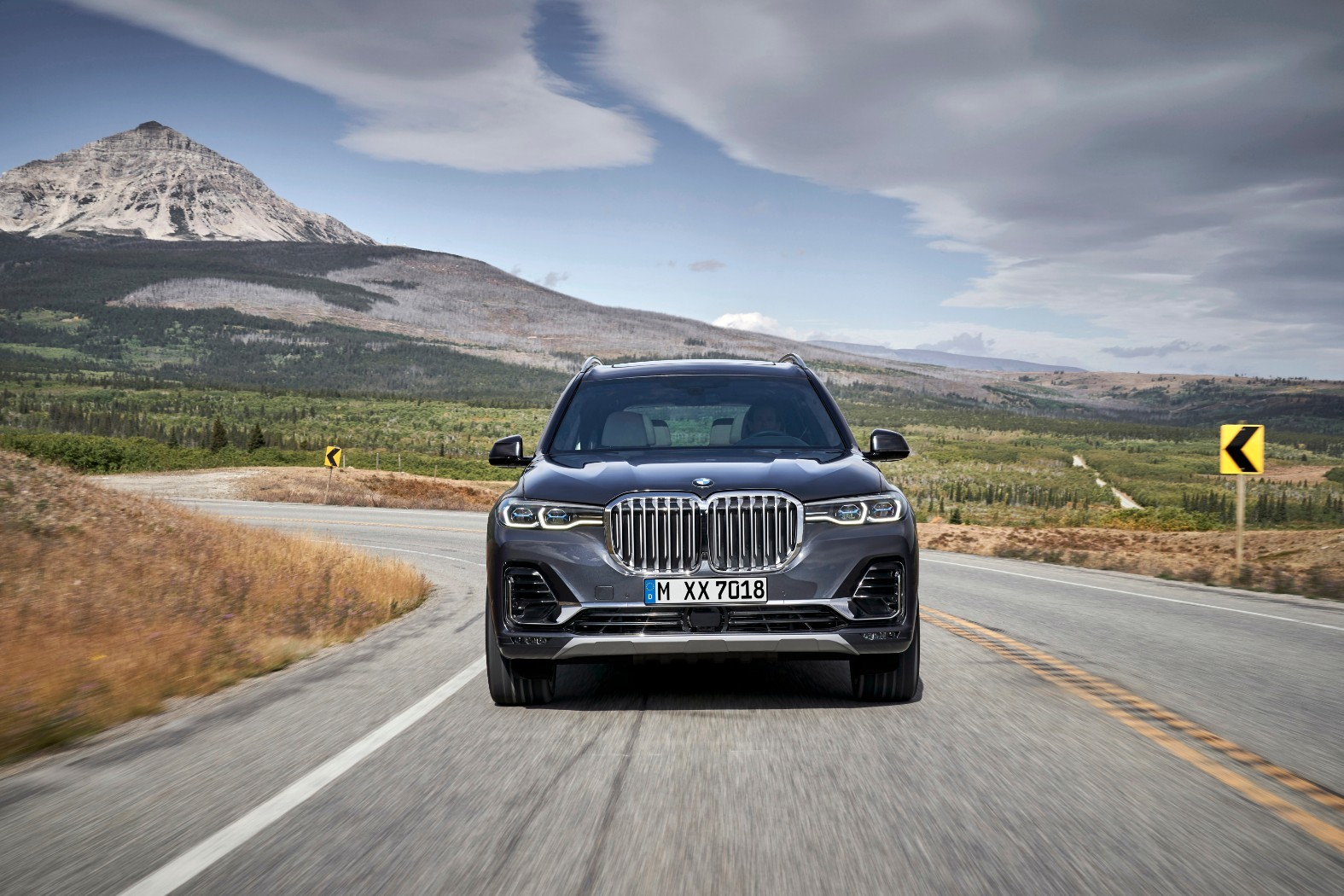 2020 BMW X7 G07 Goes Official With 7 Seats And Gigantic Kidney Grilles - autoevolution
