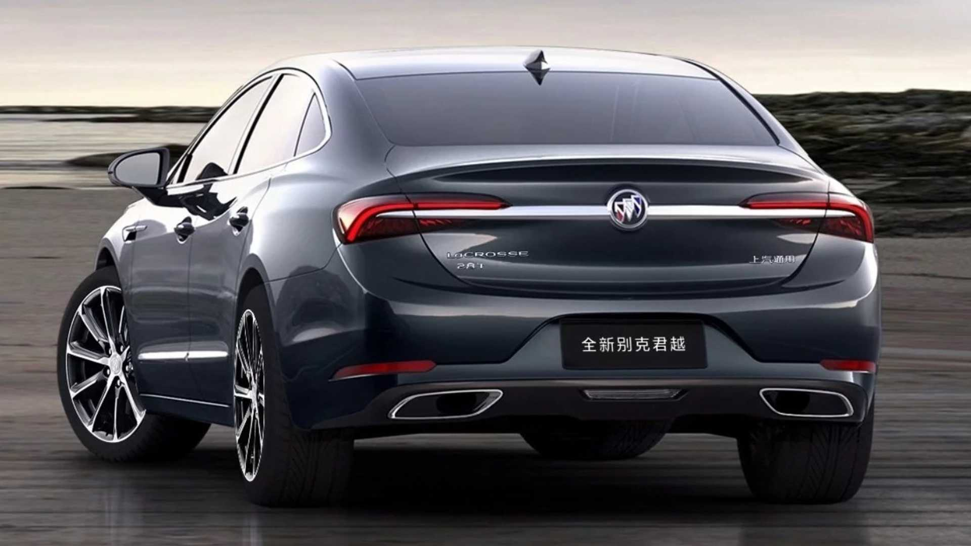2020 Buick LaCrosse Debuts in China, Looks Like a Premium ...