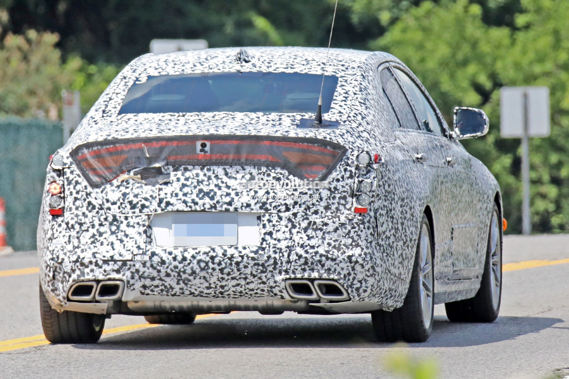 2020 Cadillac Ct4 Small Rwd Sedan Spied Flaunting Quad