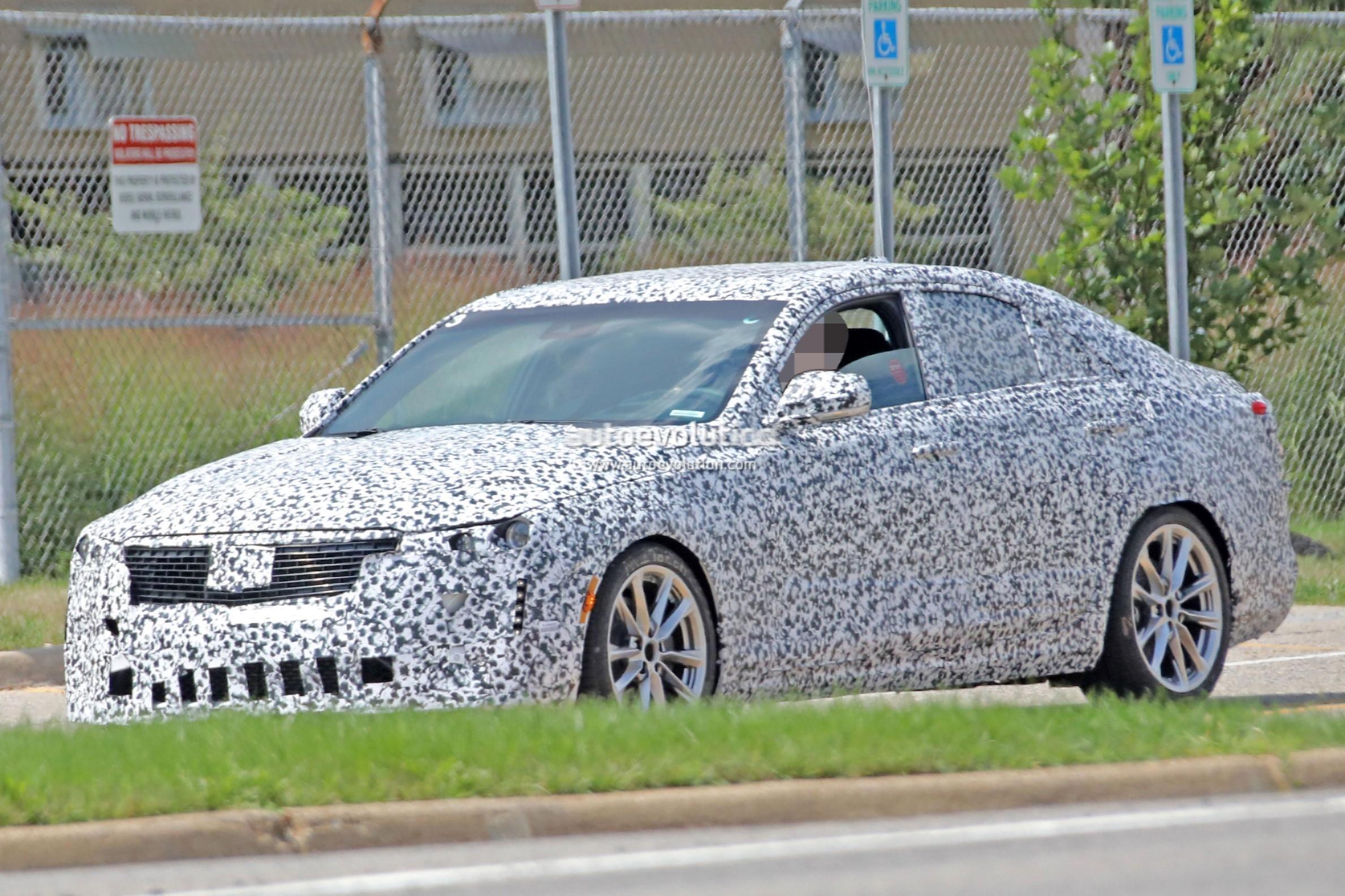 2020 Cadillac CT4 Small RWD Sedan Spied Flaunting Quad ...