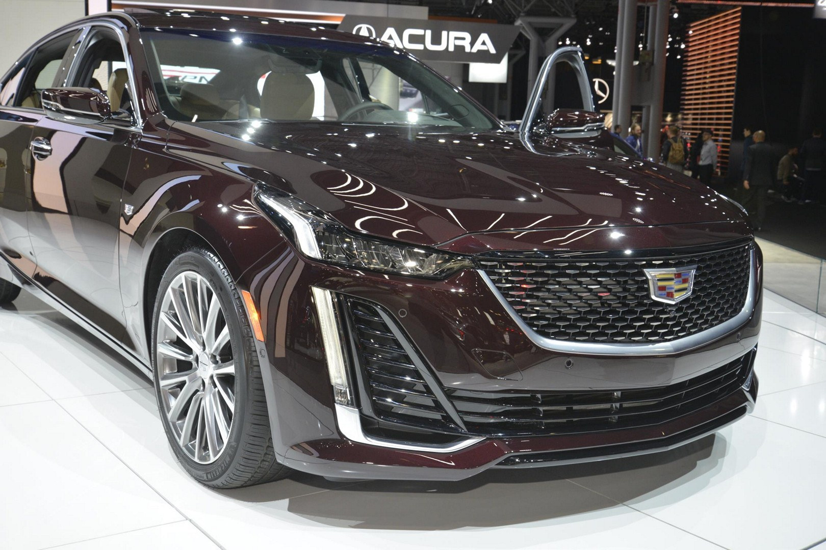 2020 Cadillac Ct5 Sedan Reviewed In China Looks More