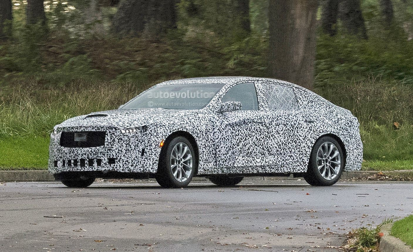2020 Cadillac CT5 Spied, Will Replace The CTS - autoevolution