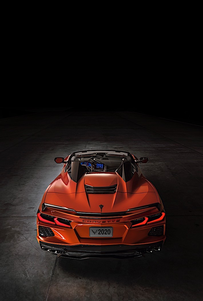 2020 Chevrolet C8 Corvette Stingray Convertible Now