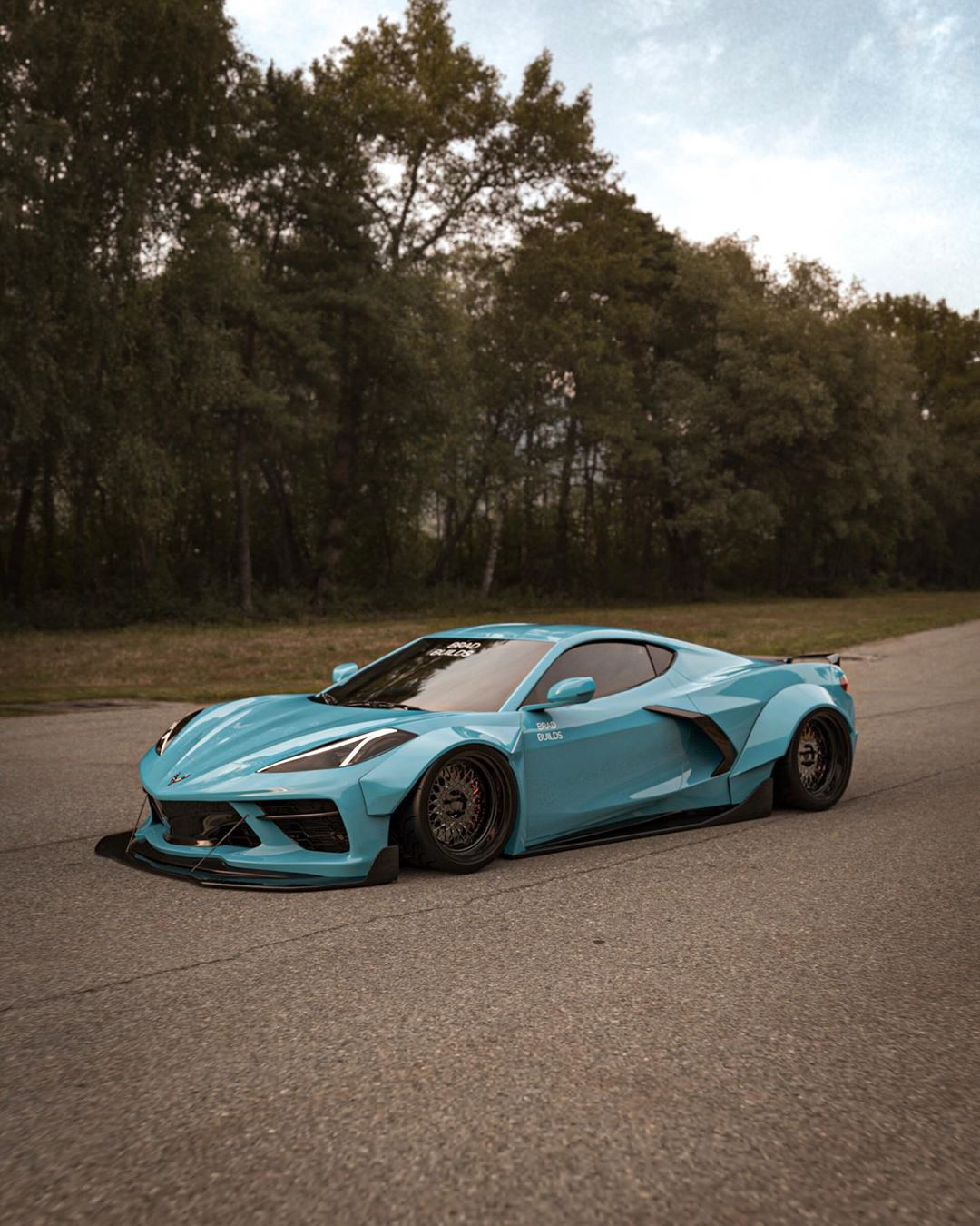 2020 Chevrolet Corvette C8 Rendered With Widebody Kit ...