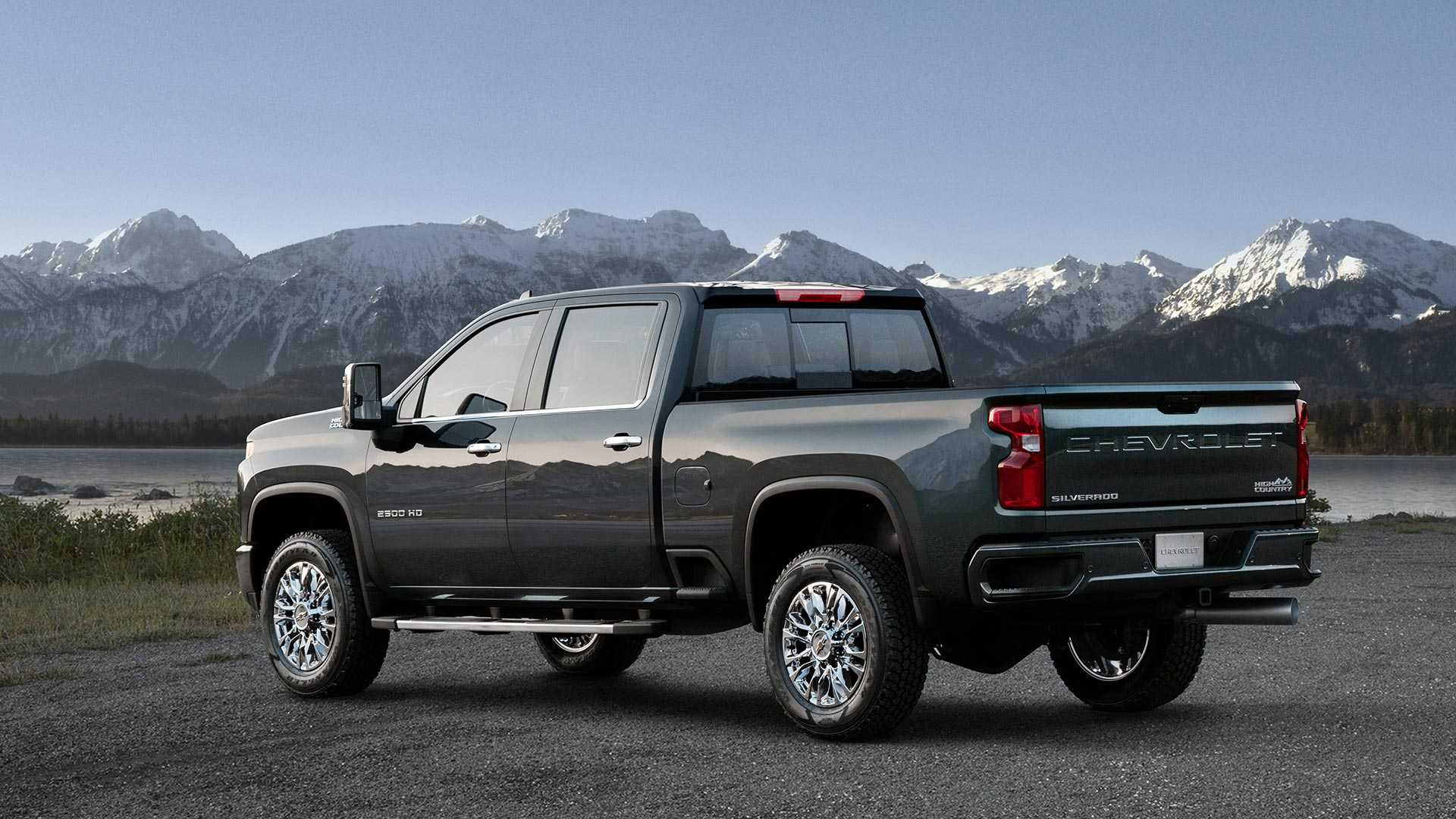 2020 Chevrolet Silverado HD Looks Bling-Bling In High Country Flavor - autoevolution