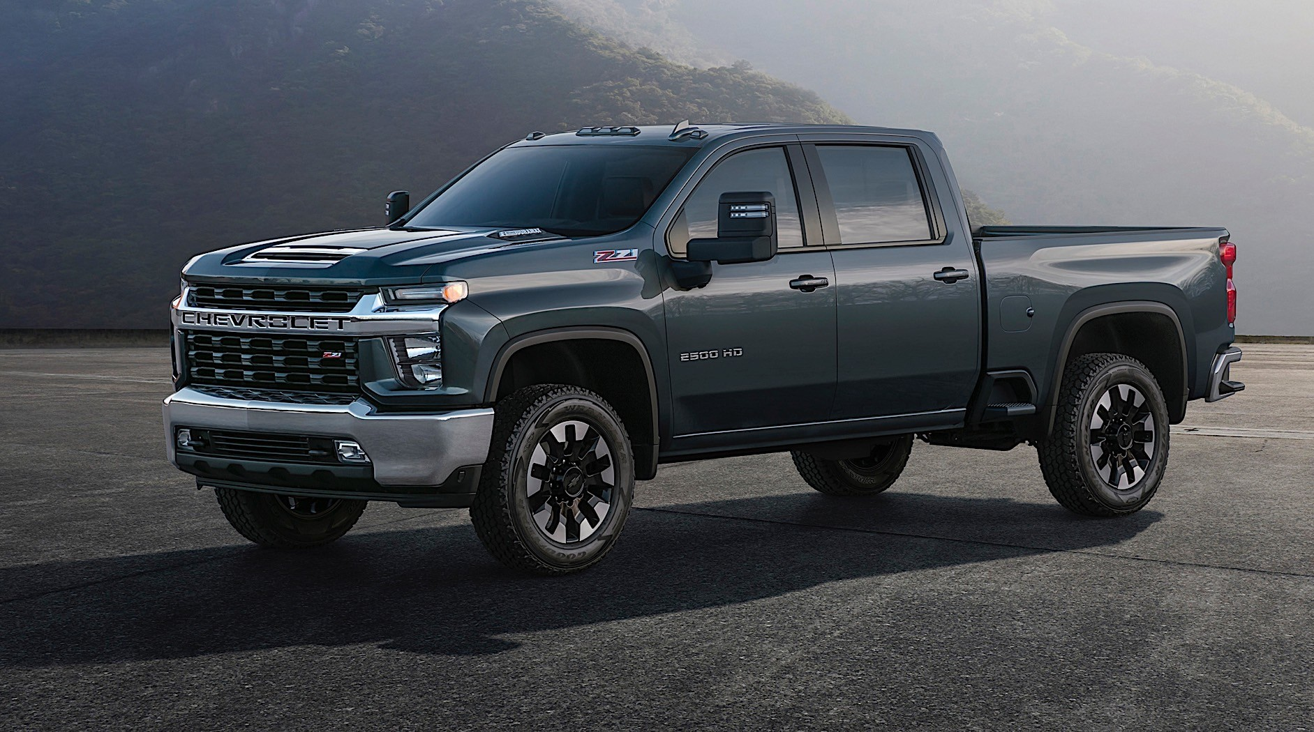 Lifted Dodge Dually For Sale >> 2020 Chevrolet Silverado HD Looks Bling-Bling In High Country Flavor - autoevolution