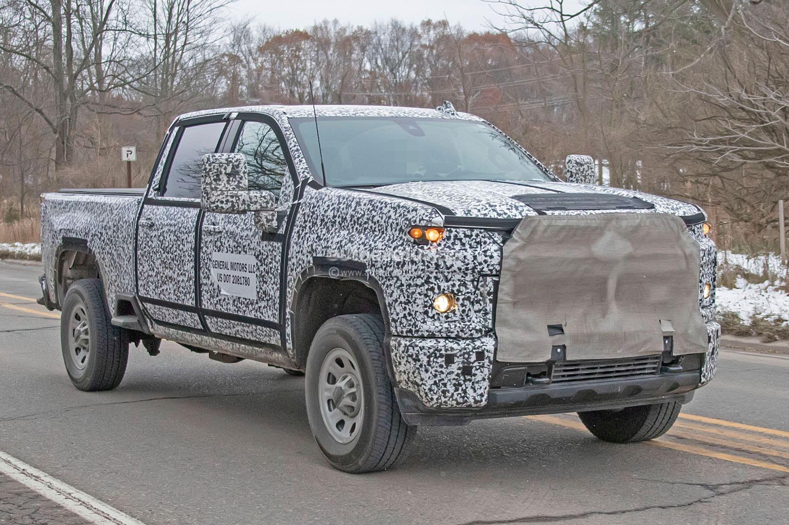 2020 chevy silverado hd prototype shows production details