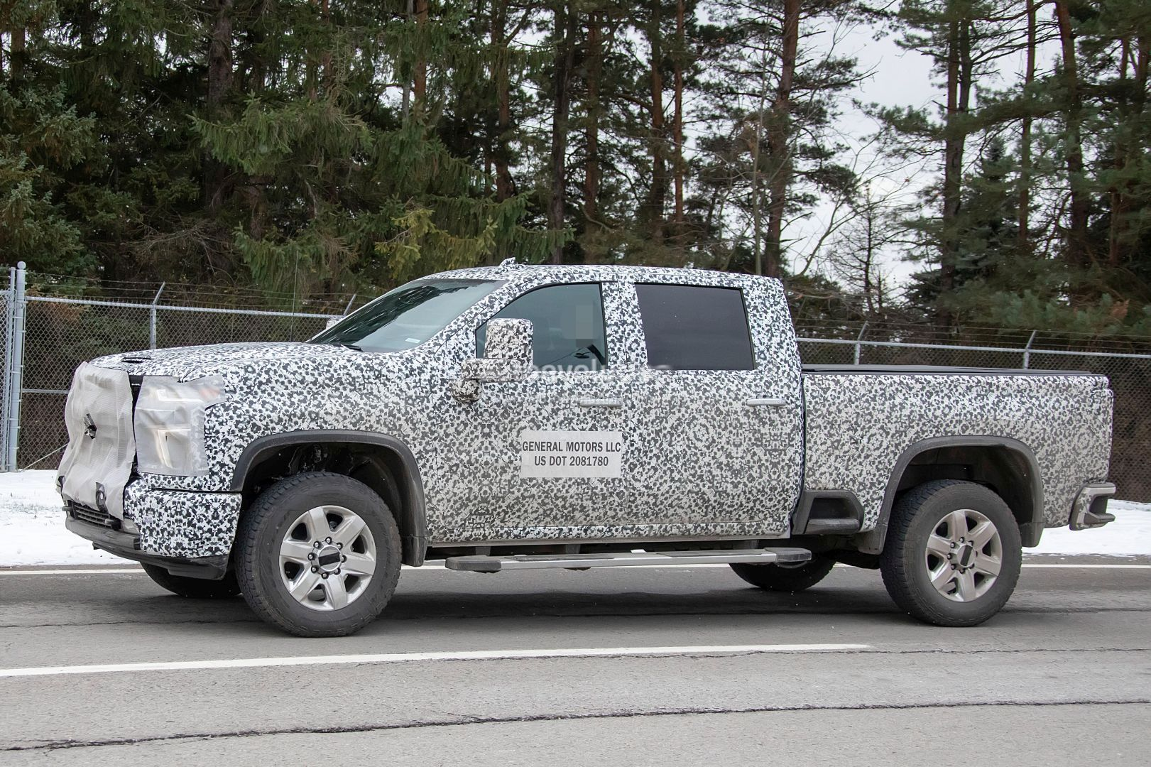 2020 Chevy Silverado Hd Prototype Shows Production Details New Side