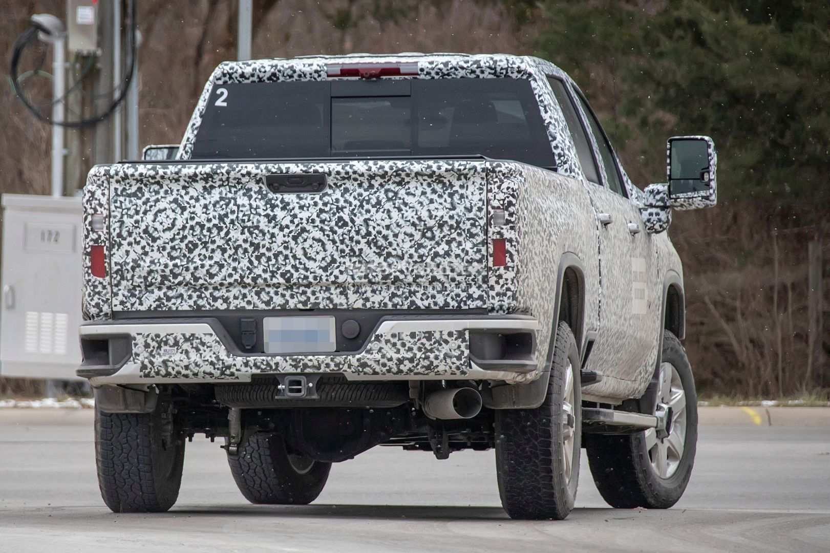 2020 Chevy Silverado HD Prototype Shows Production Details ...