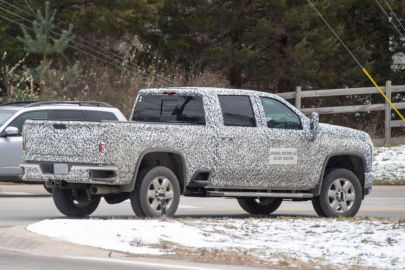 2020 Chevy Silverado HD Prototype Shows Production Details ...
