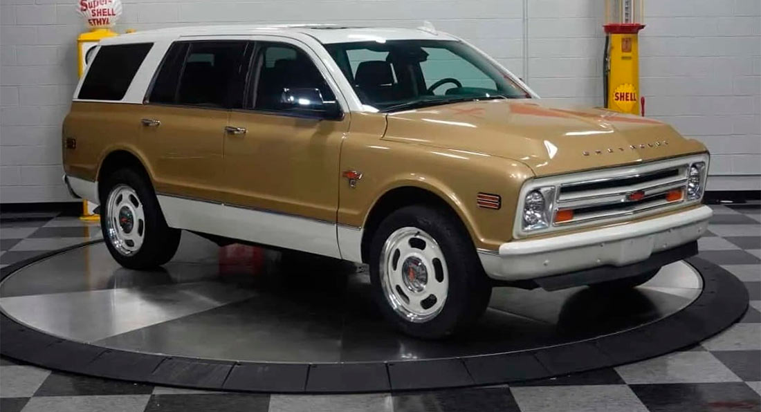 2020 Chevy Tahoe Gets 1968 Look With K5 Blazer Face and ...