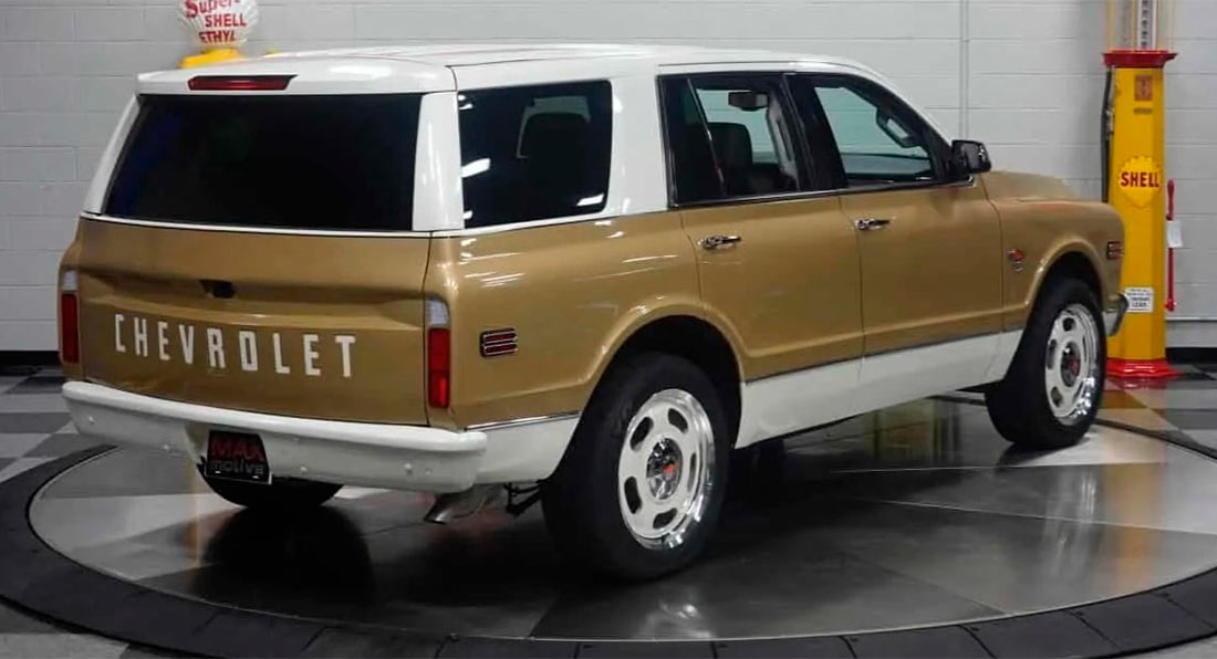 2020 chevy tahoe gets 1968 look with k5 blazer face and
