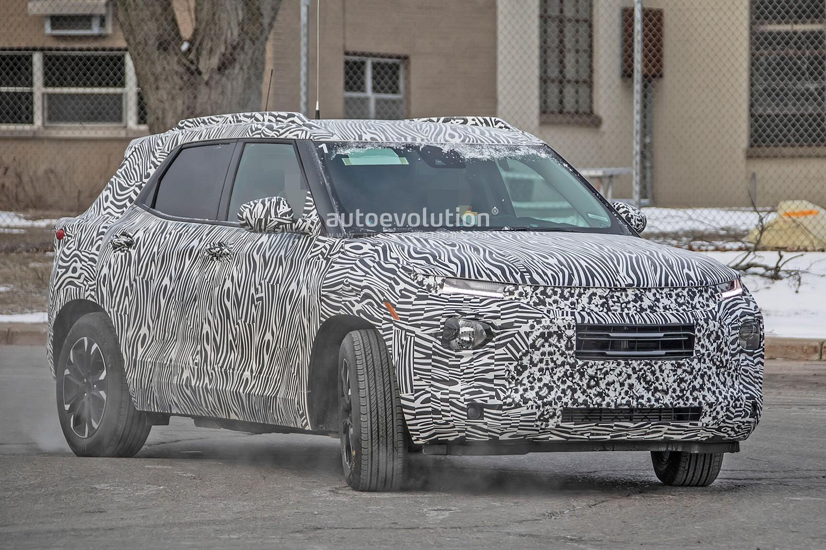 2020 Chevy Trax Spied With Blazer-Like Looks - autoevolution