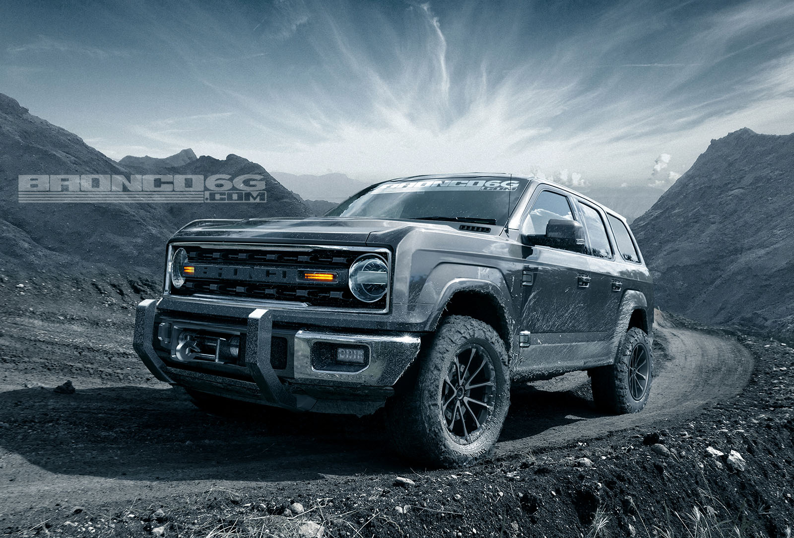 Ford Raptor Bronco >> 2020 Ford Bronco Shows Jeep Wrangler Proportions, Tailgate ...