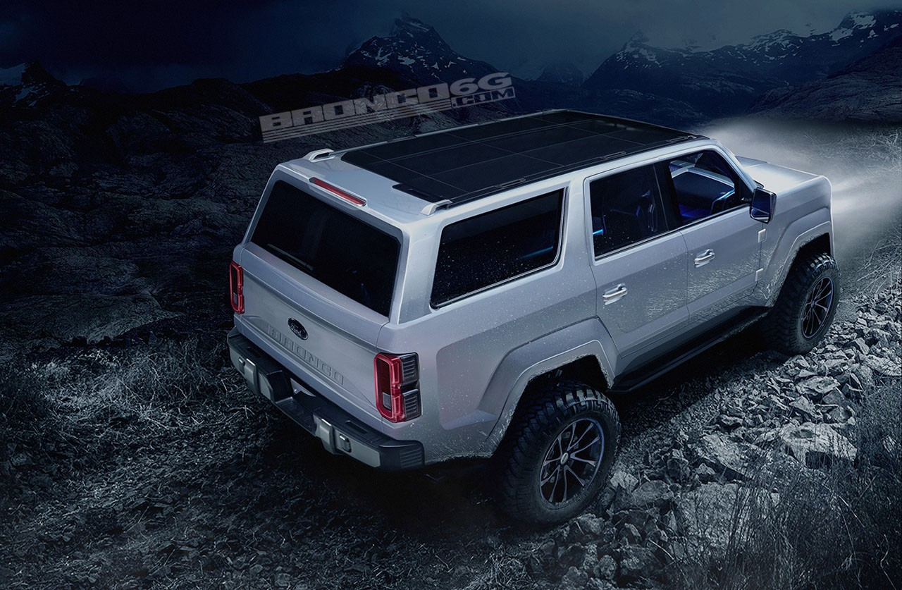 2020 Ford Bronco To Get 325 HP 2.7L EcoBoost V6 According ...