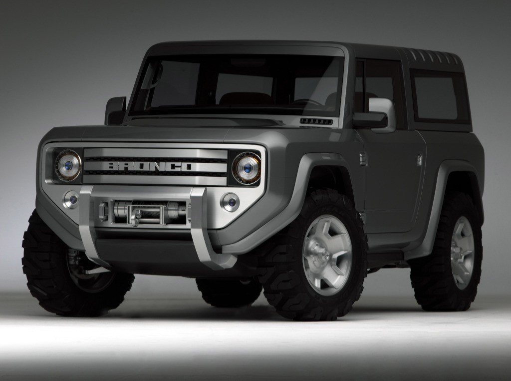 2020 Ford Bronco Will Be Body On Frame To Share Platform With 2019
