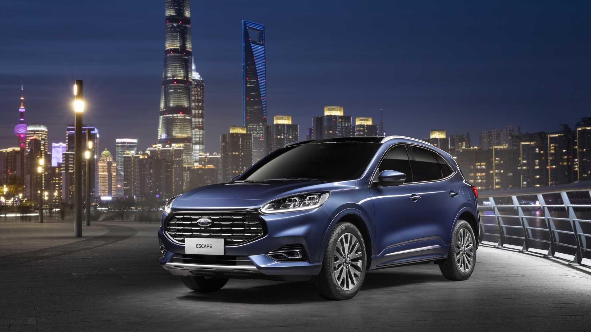 "2020 Ford Escape Goes Bling-Bling With ""Nebula Shield"" Grille In China - autoevolution"