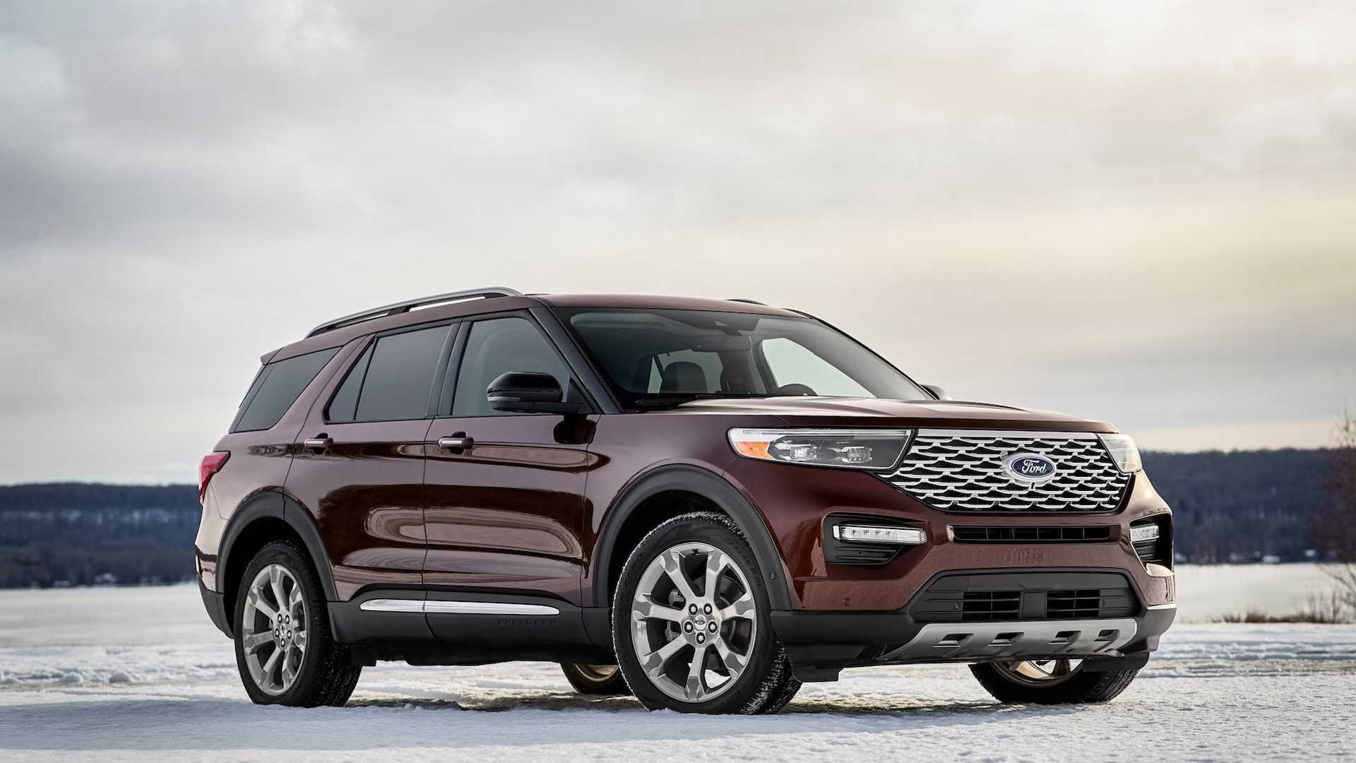 2020 Ford Explorer: America's Best-Selling SUV Reinvented - autoevolution