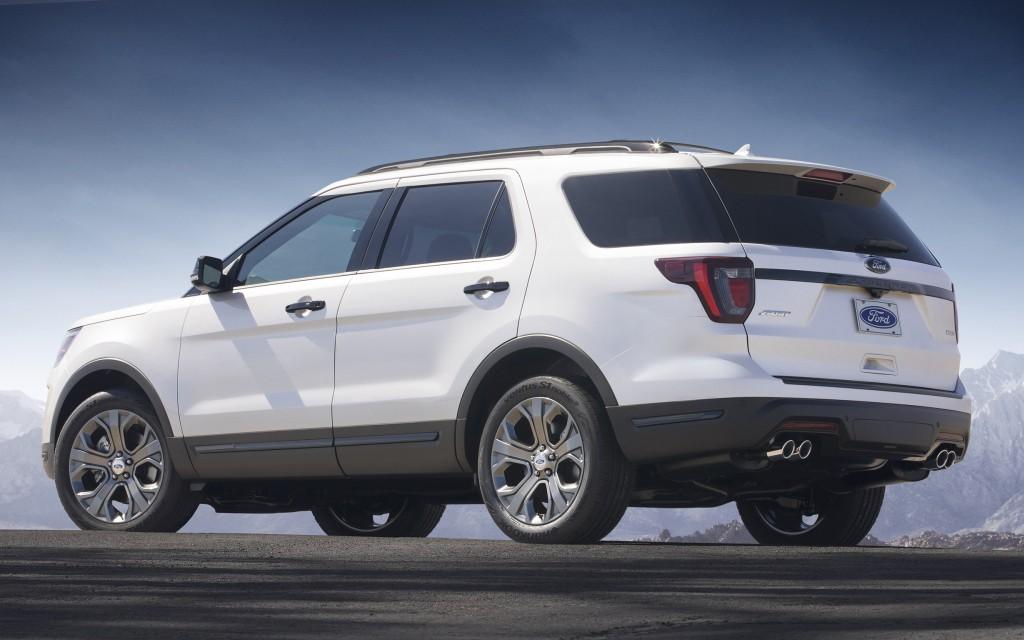The 2020 Ford Explorer rumored to come in 400-hp ST trim