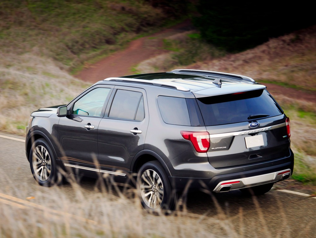 All-New 2020 Ford Explorer Going RWD-Based Thanks To CD6 Platform - autoevolution