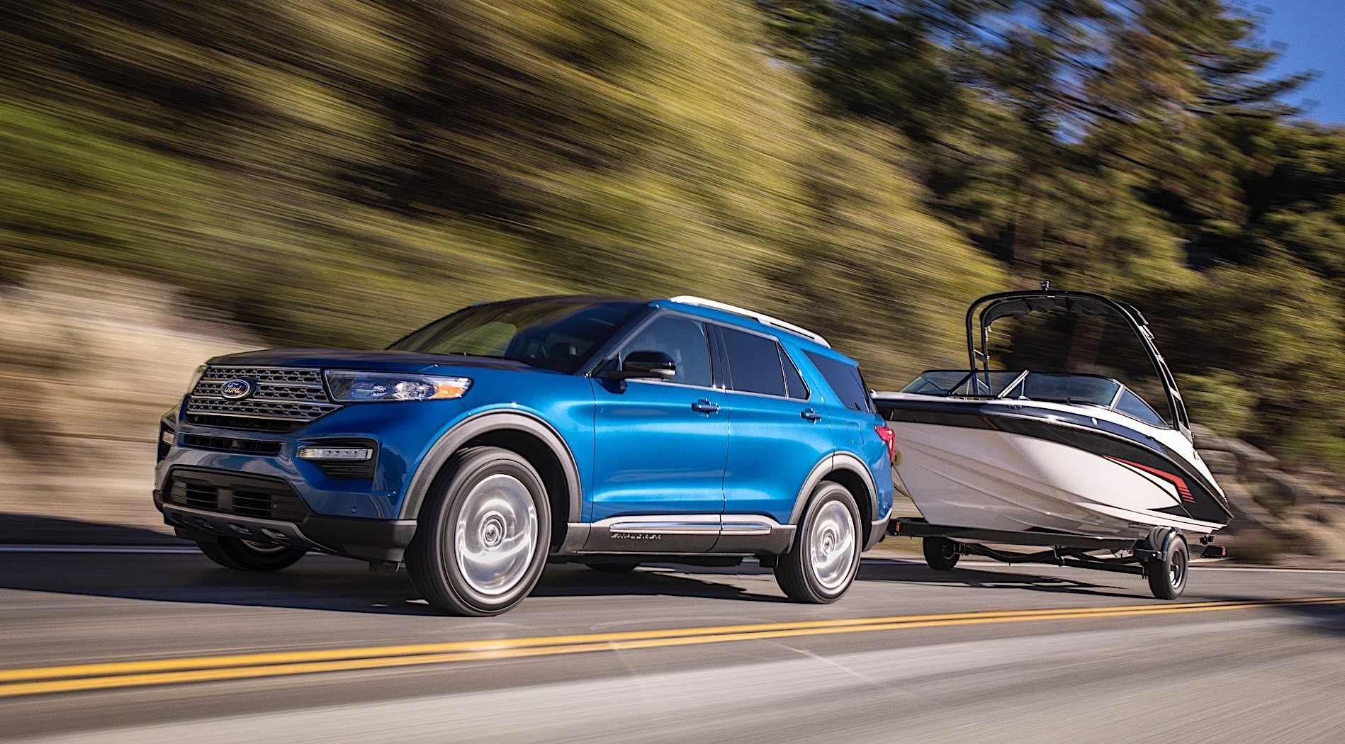 2020 Ford Explorer Hybrid Promises 500 Miles of Range - autoevolution