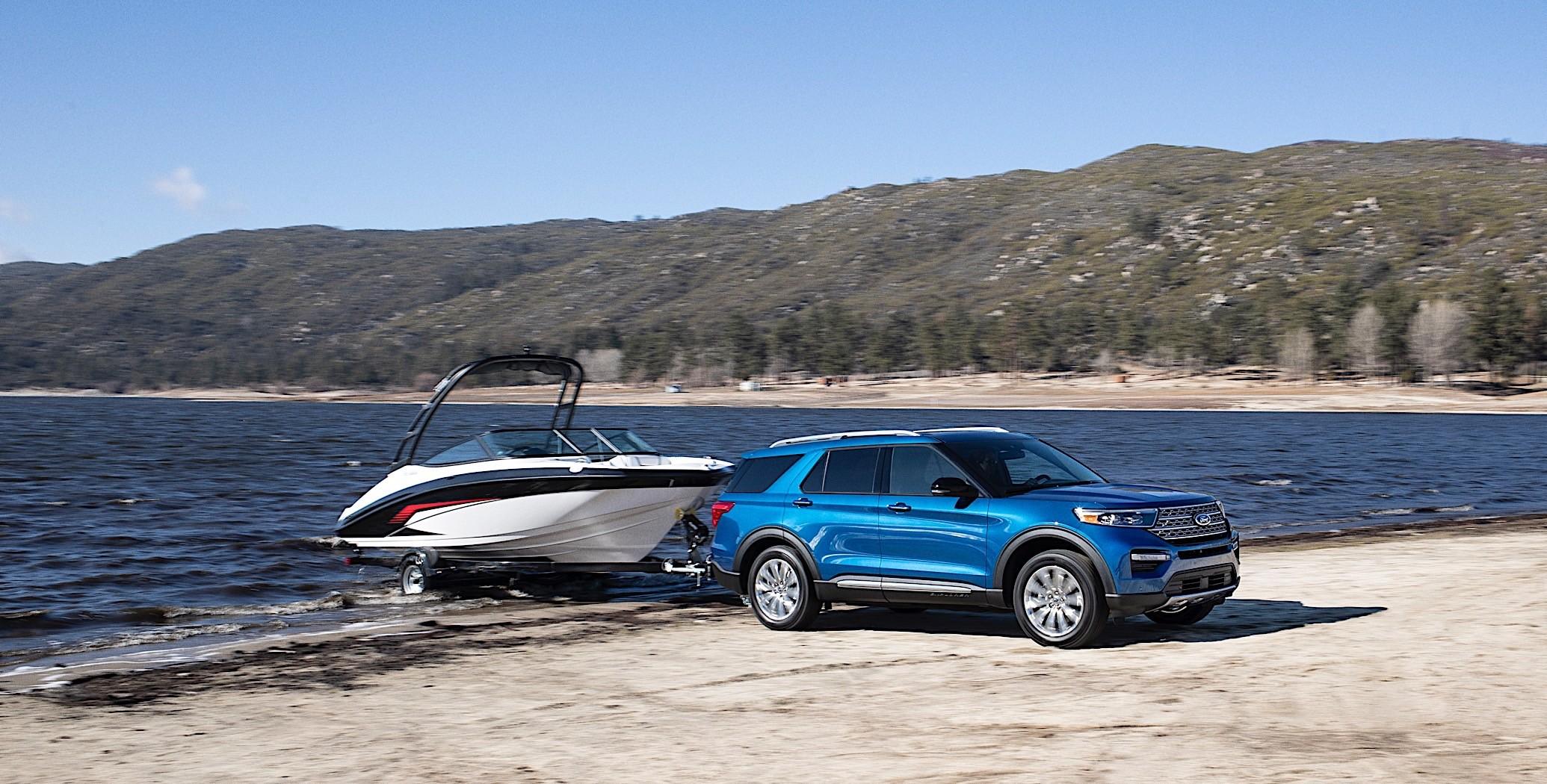 2020 Ford Explorer Hybrid Promises 500 Miles of Range - autoevolution