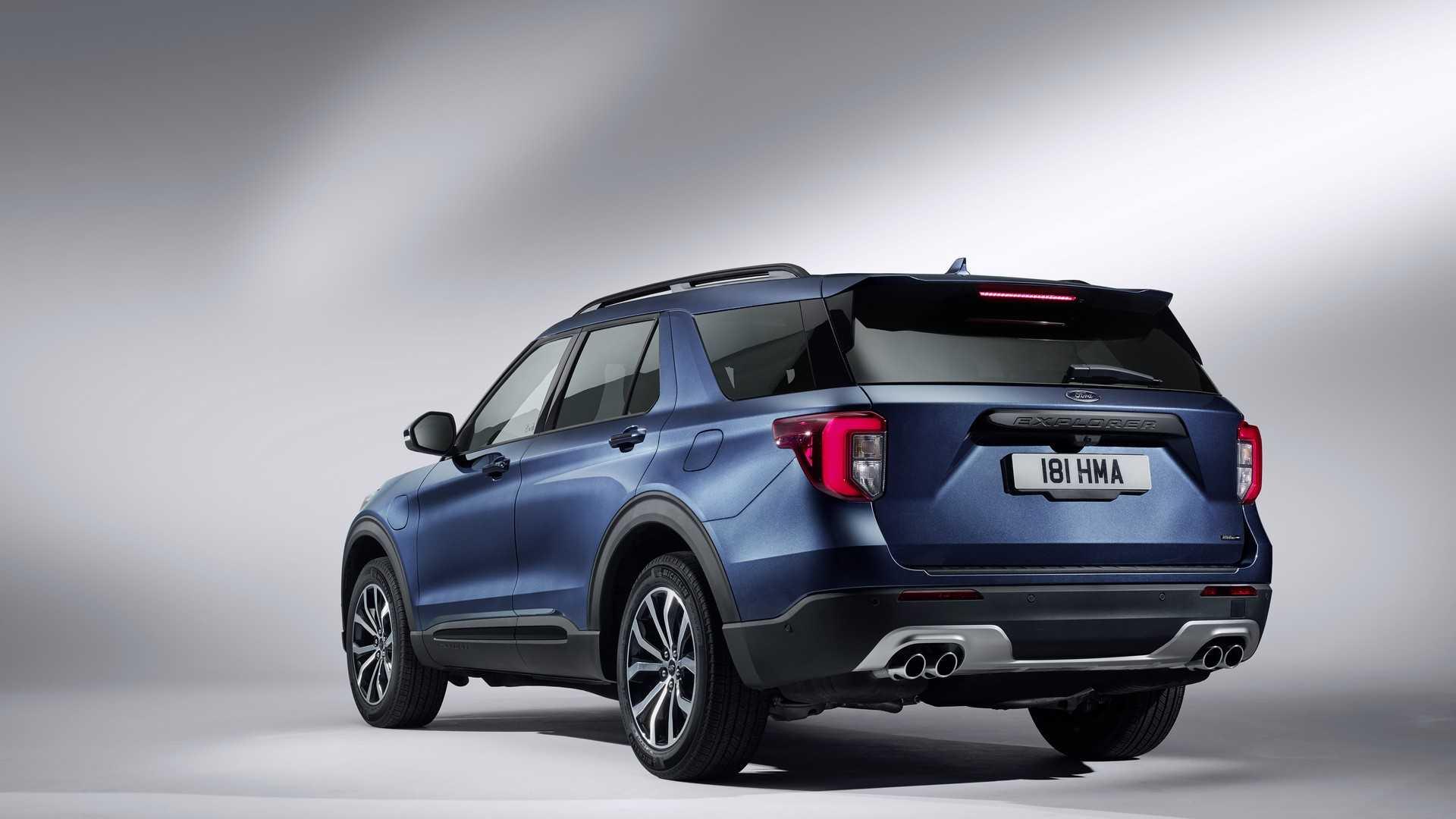 2020 Ford Explorer Plug In Hybrid For Europe