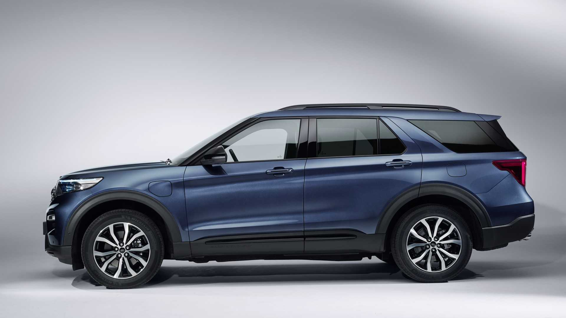 2020 Ford Explorer Plug In Hybrid For Europe
