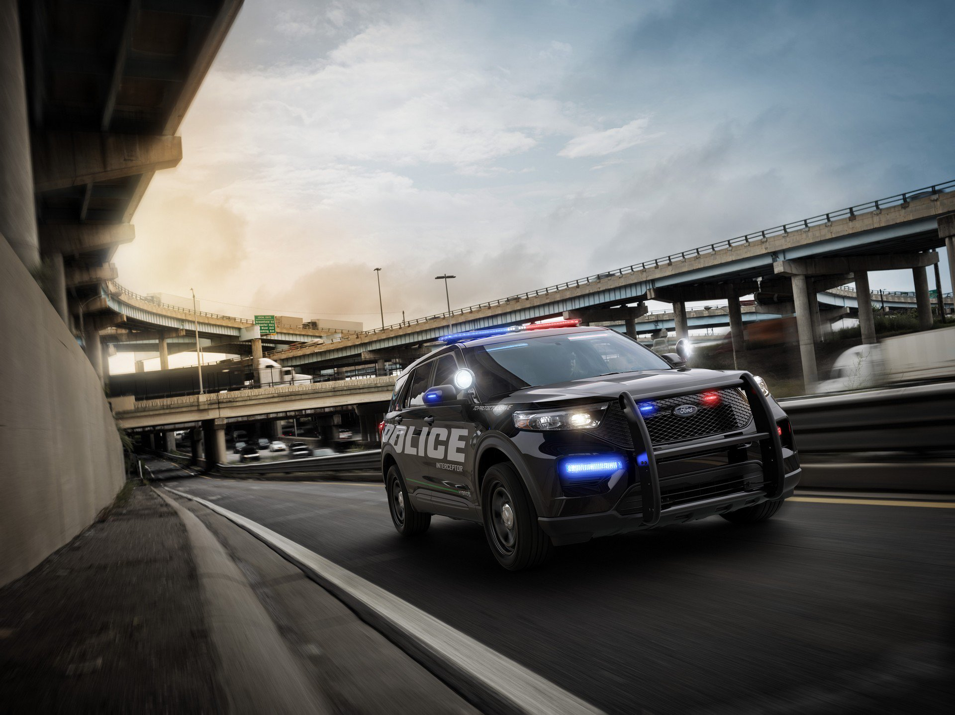 2020 Ford Explorer Previewed By All-New Police Interceptor ...