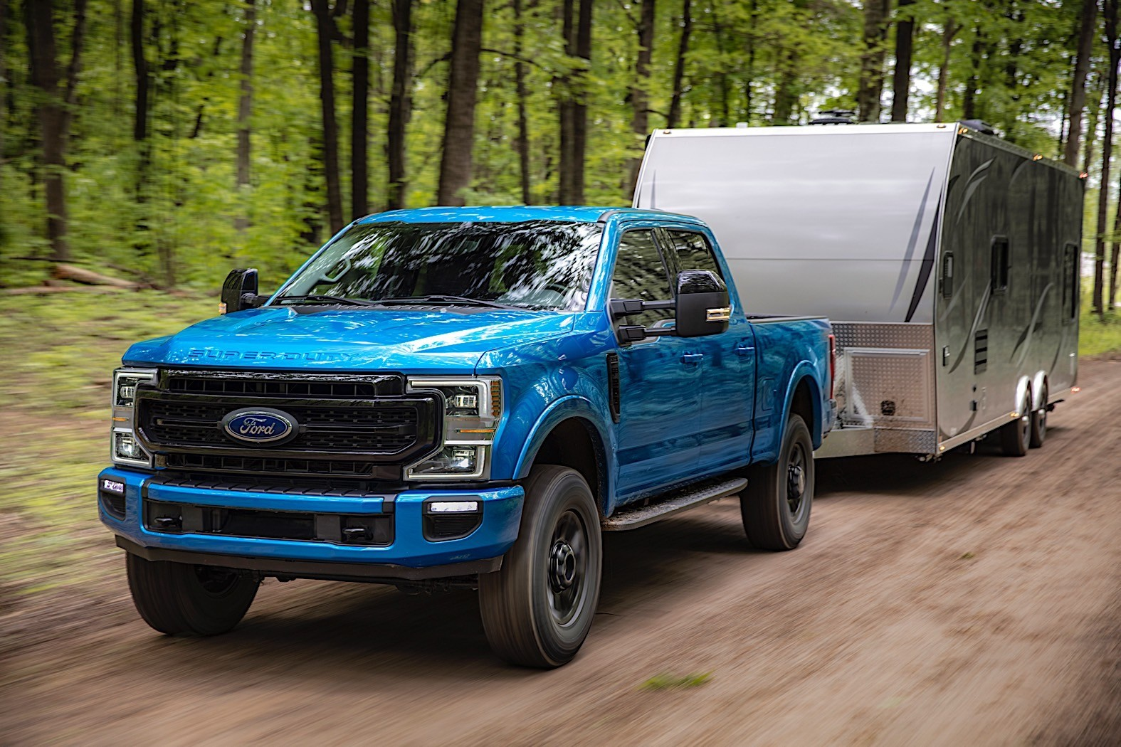 2020 Ford F-Series Super Duty Gets Largest Tires Ever ...
