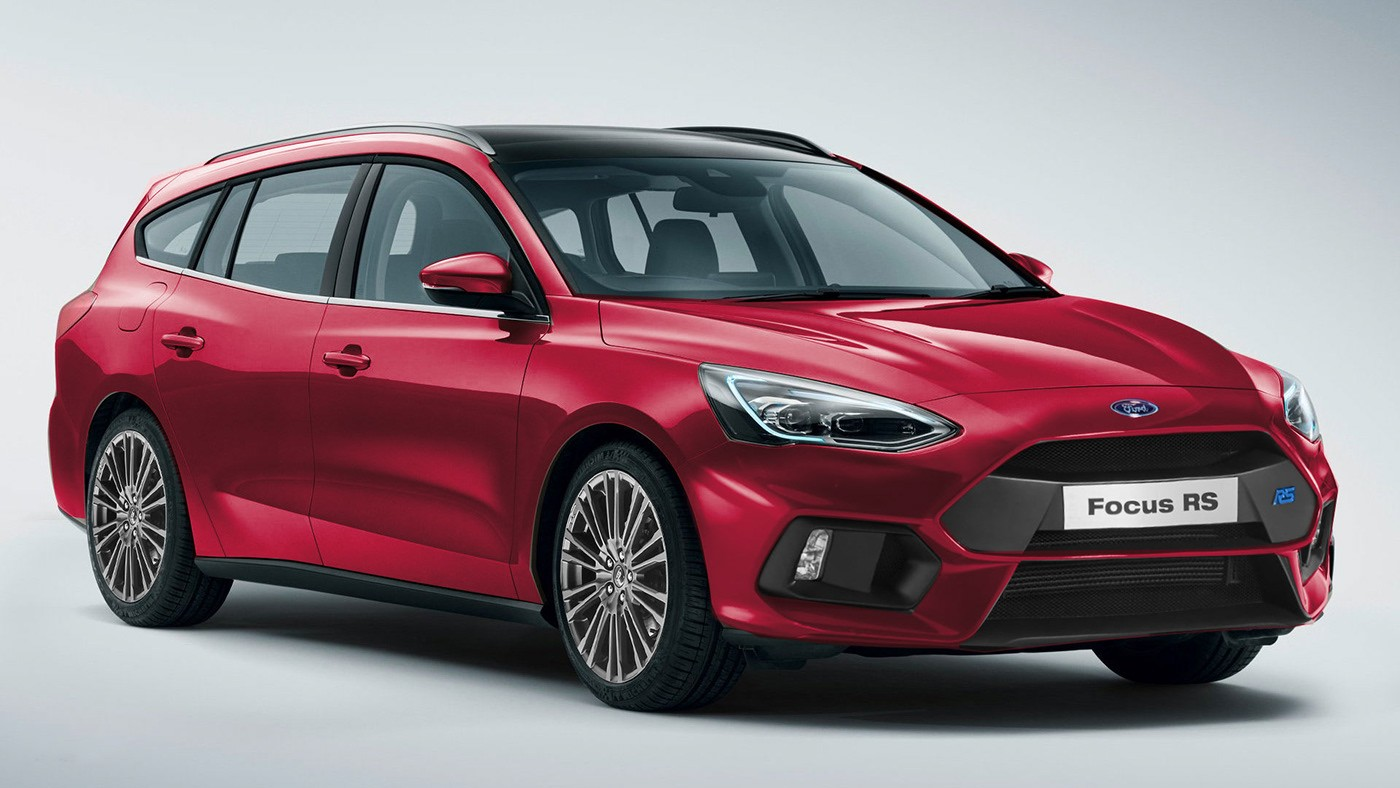 2020 ford focus rs imagined in hatchback sedan station wagon active flavors autoevolution. Black Bedroom Furniture Sets. Home Design Ideas