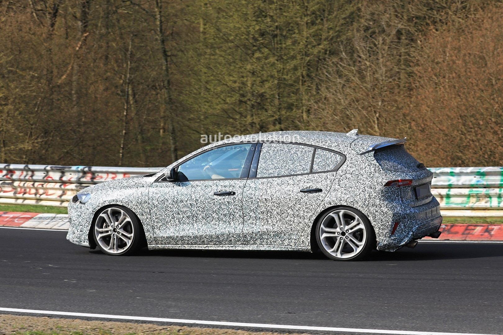 Focus St Exhaust >> Spyshots: 2020 Ford Focus ST Hits Nurburgring, 8-Speed Automatic Likely - autoevolution