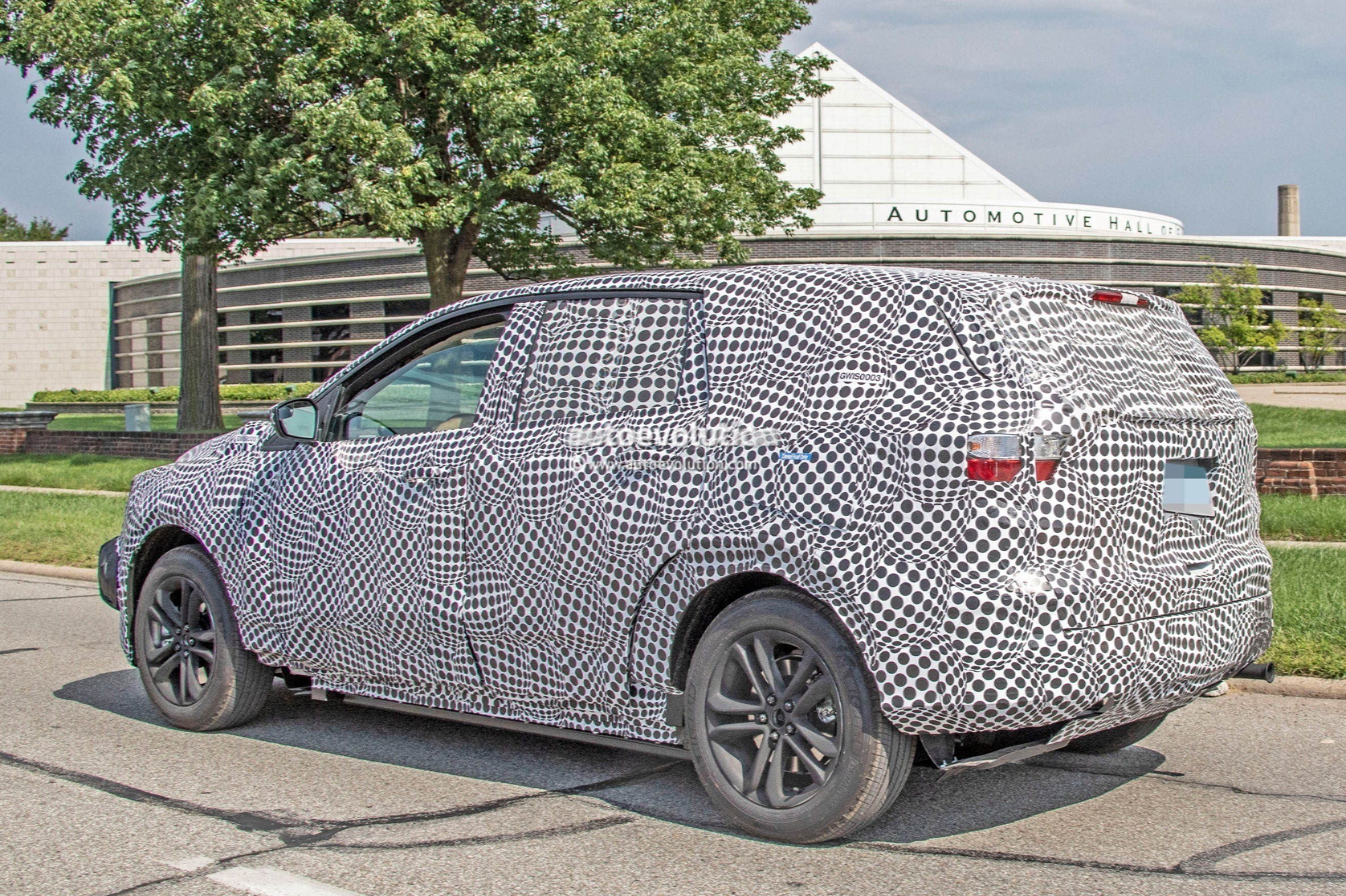 2020 Ford Mach 1 Electric SUV Spied For The First Time - autoevolution