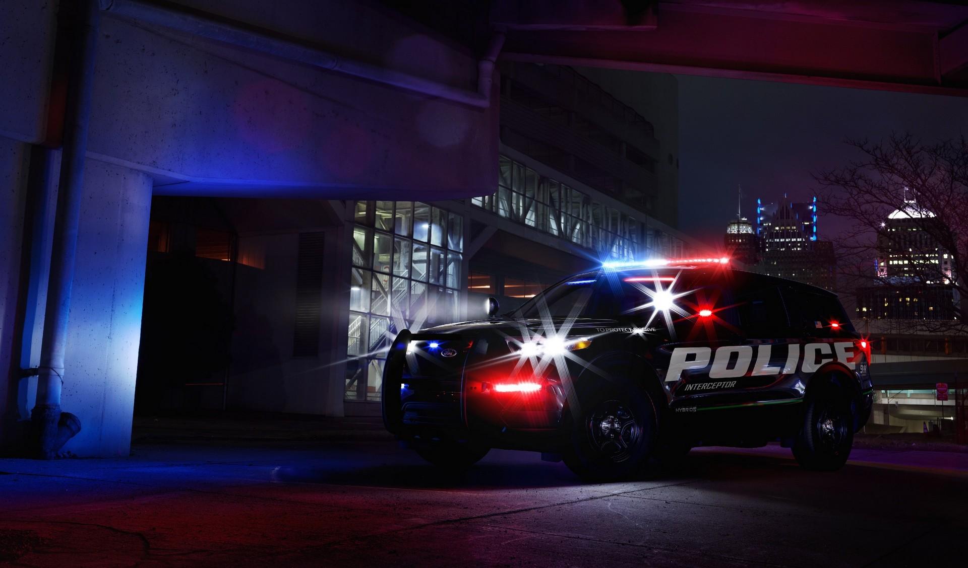 2020 Ford Police Interceptor Utility Hybrid V6 Confirmed - autoevolution