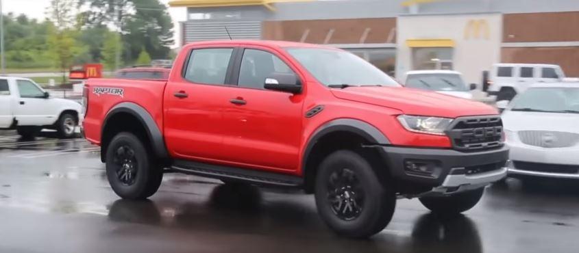 2020 Ford Ranger Raptor Spied Testing in Detroit, Should ...