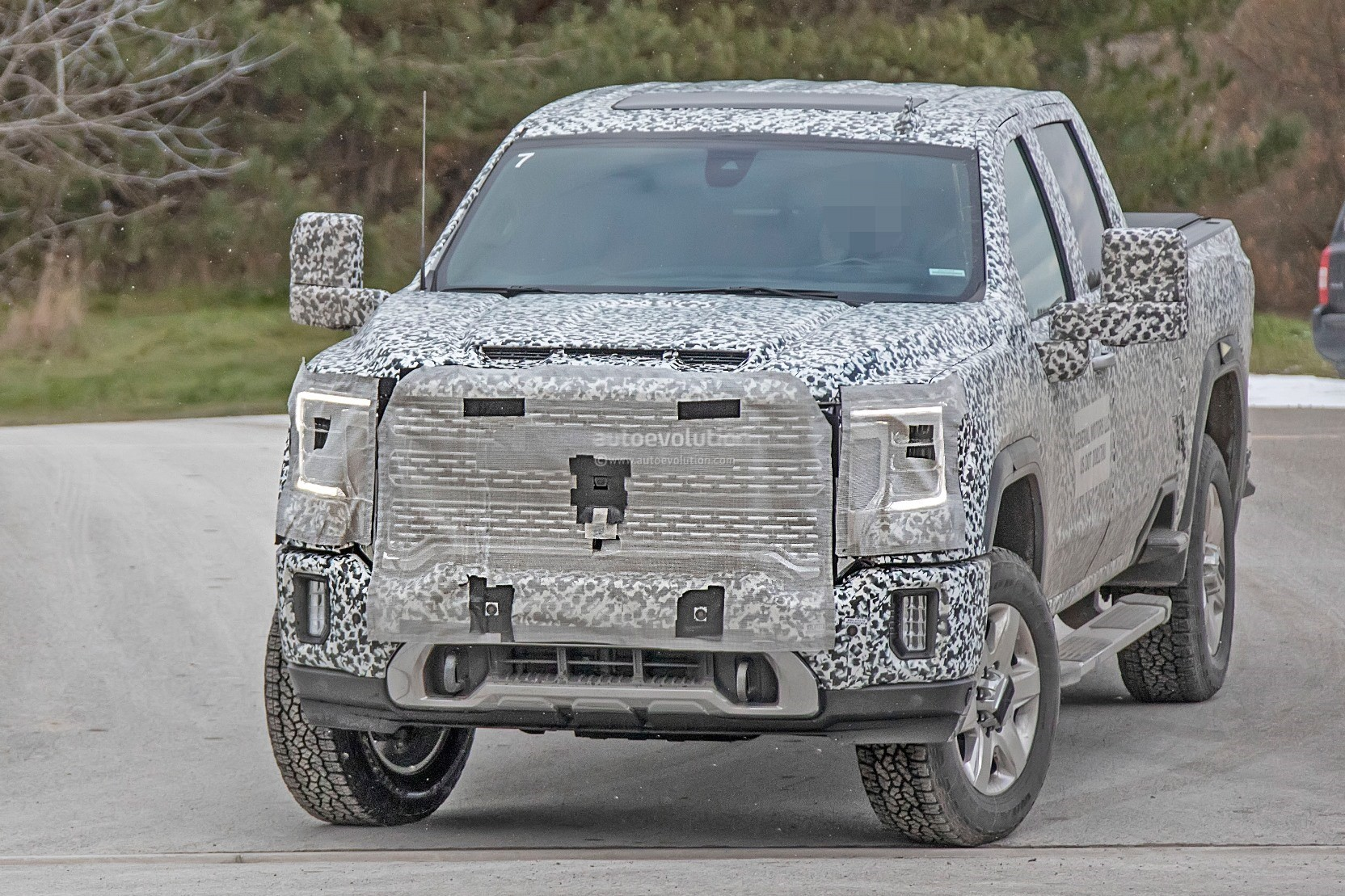 2020 GMC Sierra HD Spied In Denali Crew Cab Configuration ...
