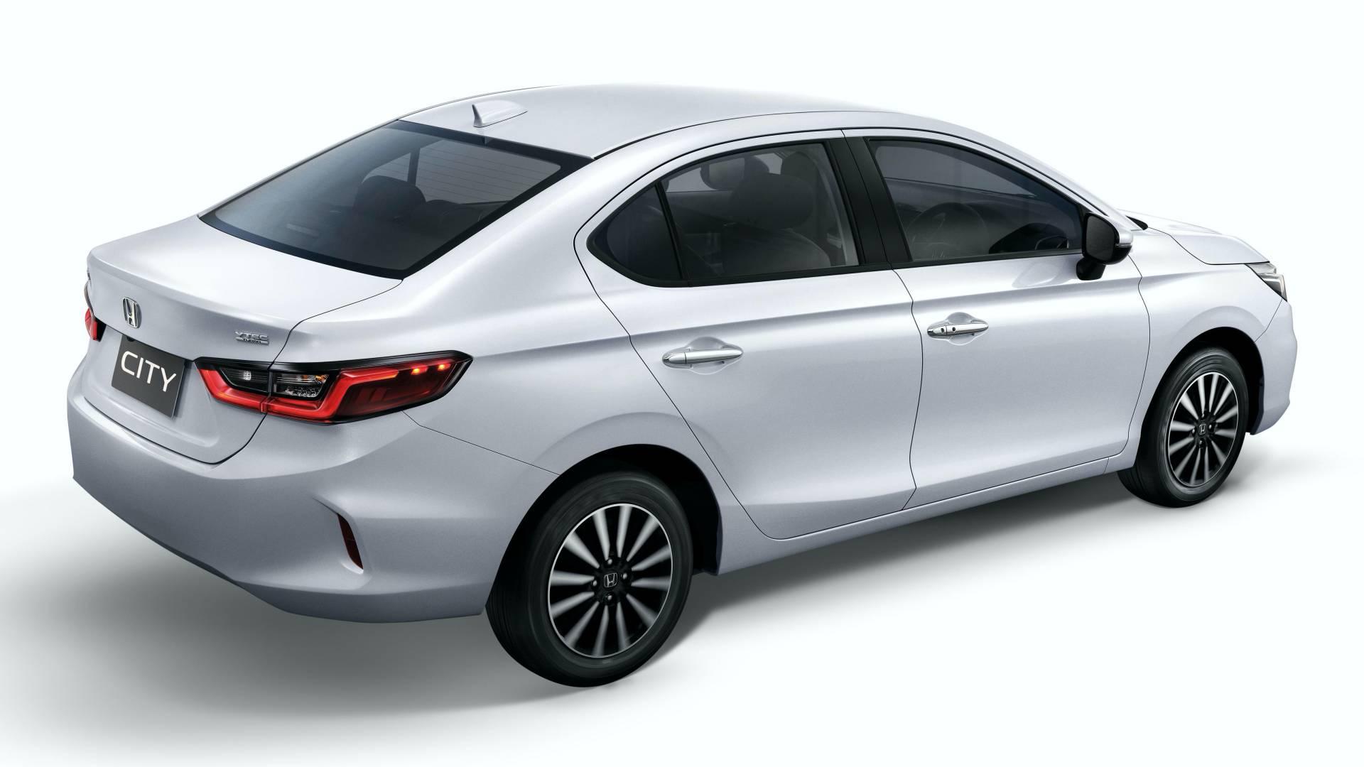 2020 Honda City Looks Like The Civic Shares Platform With