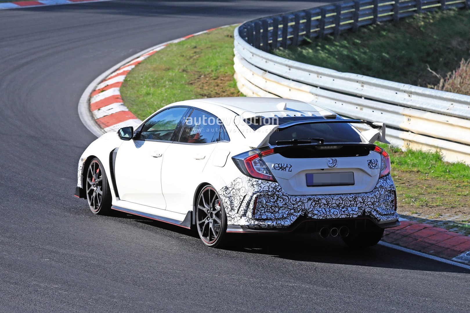 2020 Honda Civic Type R Prototypes Spied at the ...