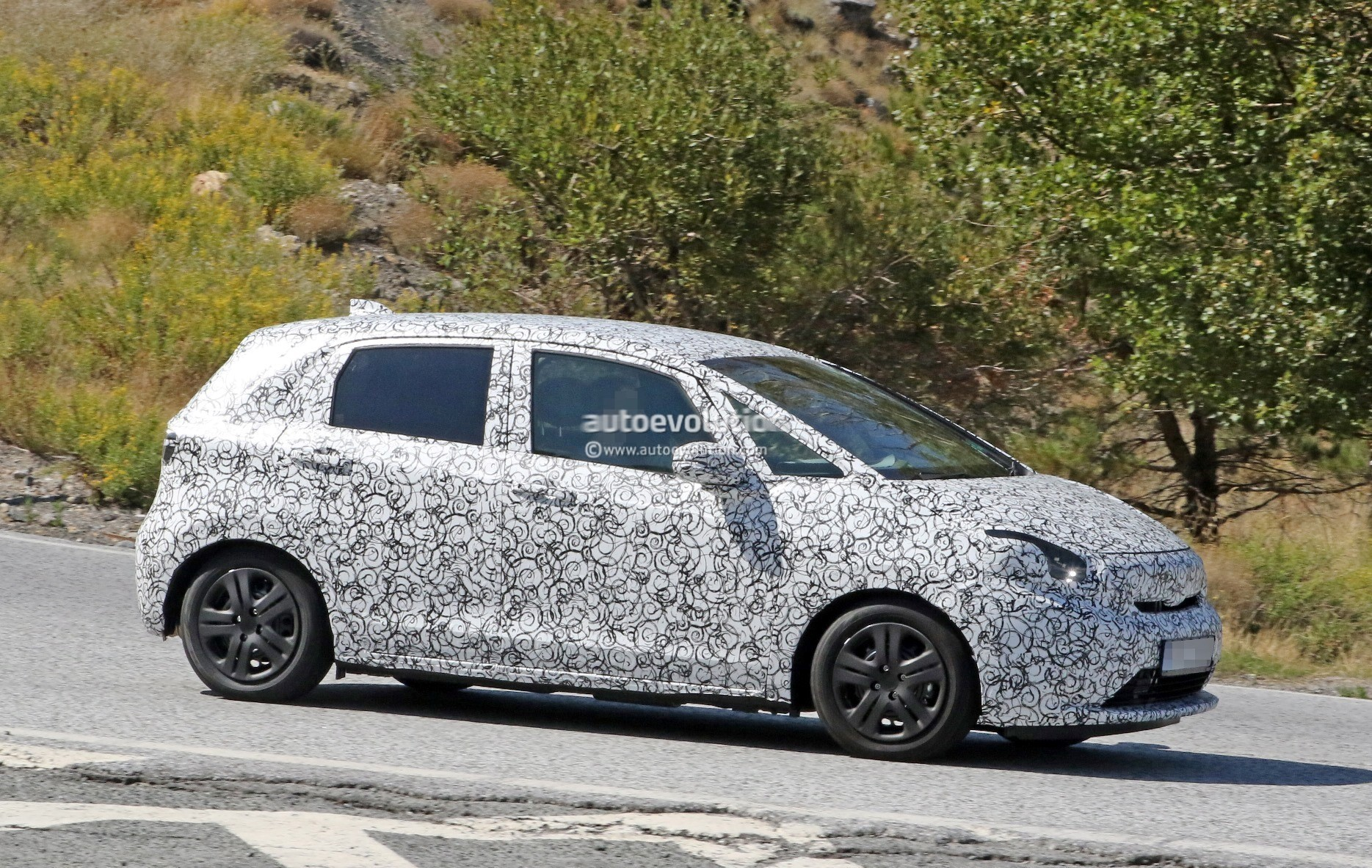 2020 Honda Jazz Fit Spied With Production Bodywork