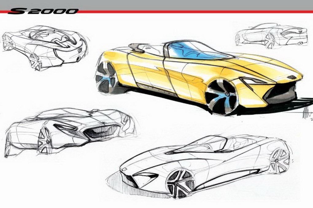2020 Honda S2000 As Seen By Design Student Autoevolution