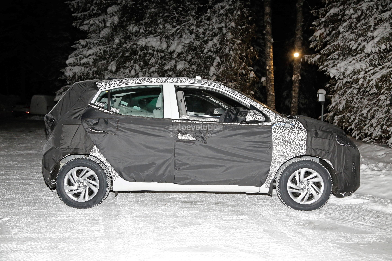 UPDATE: 2020 Hyundai i10 Spied, Shows Evolutionary Design