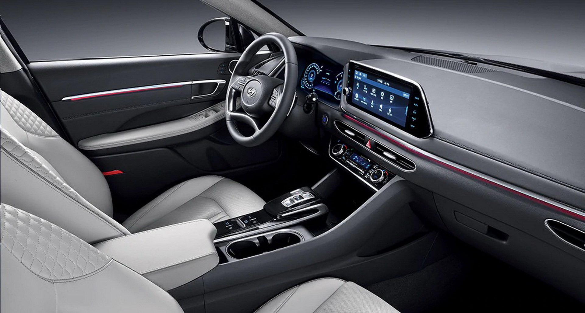 Hyundai Sonata Parts >> 2020 Hyundai Sonata 1.6 Turbo Coming To Seoul Motor Show - autoevolution