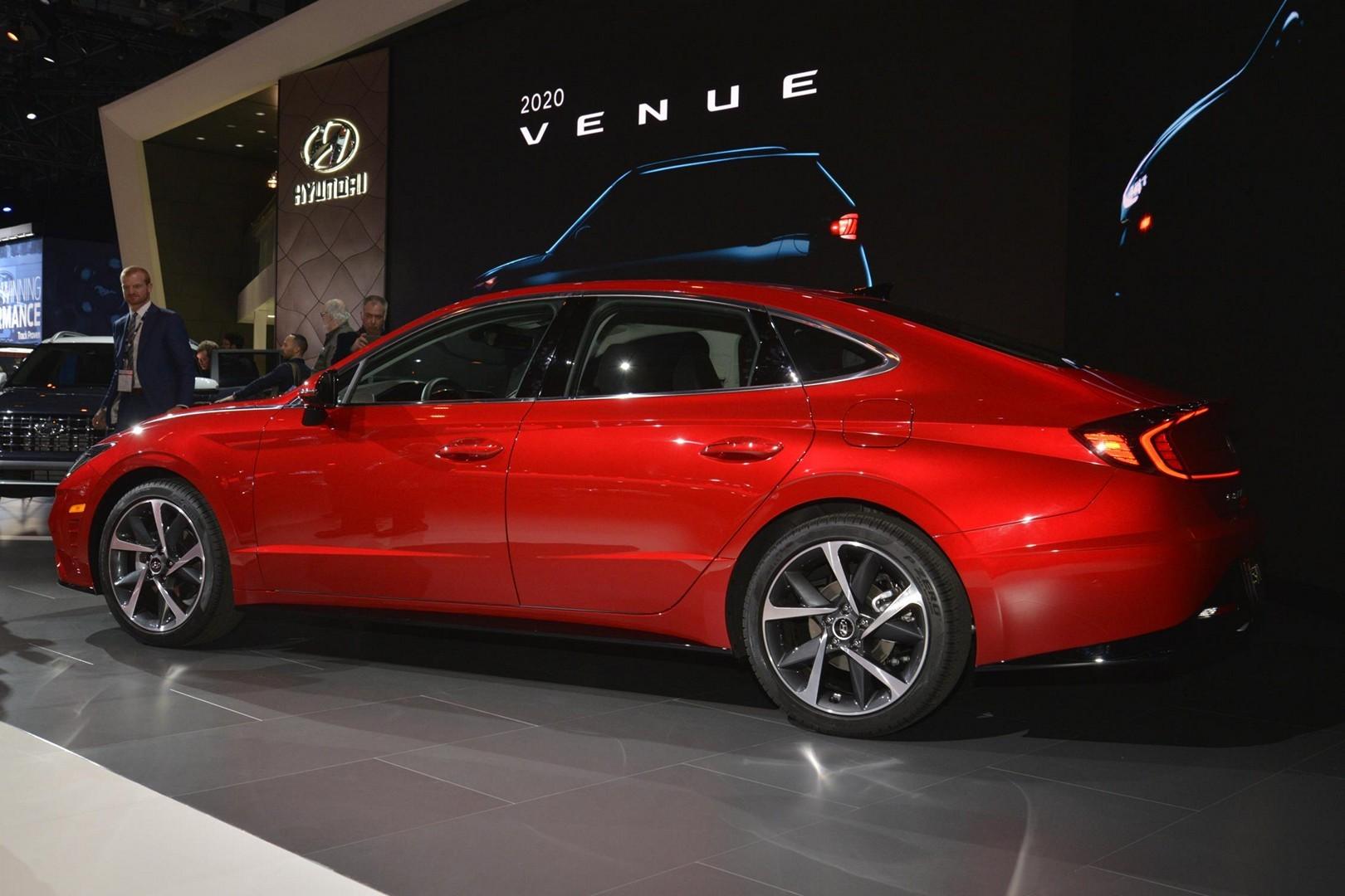 2020 Hyundai Sonata Looks Red Hot In New York N Model