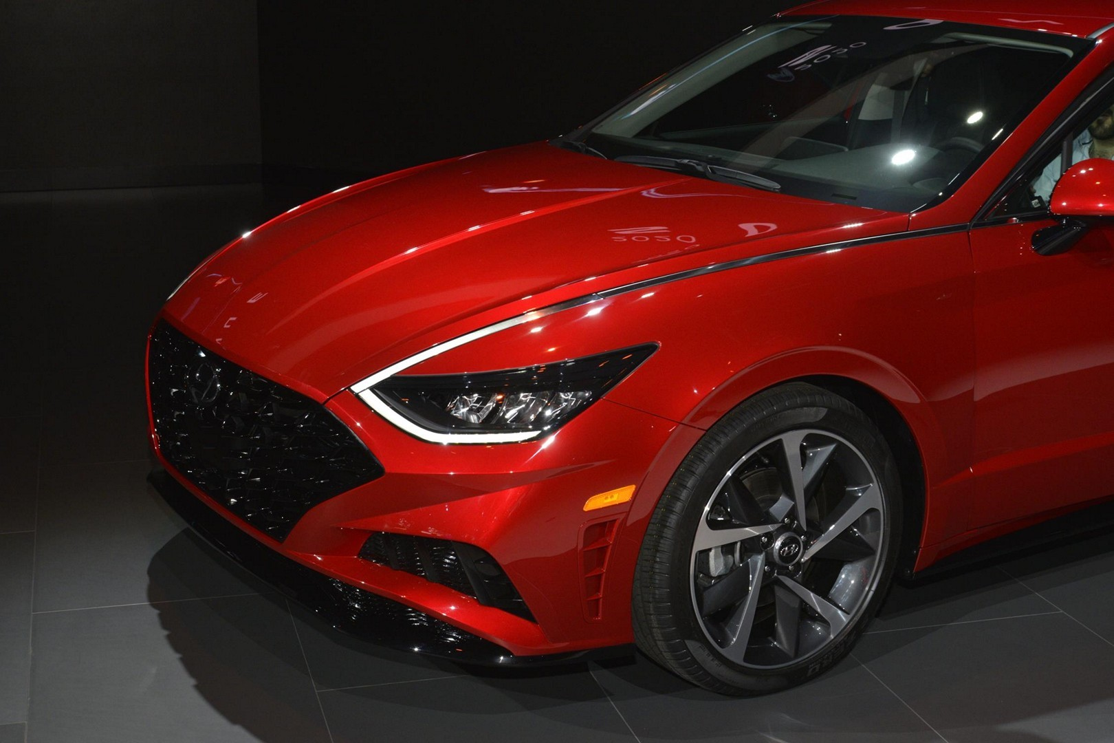 Black Kia Soul >> 2020 Hyundai Sonata Looks Red-Hot in New York, N Model ...