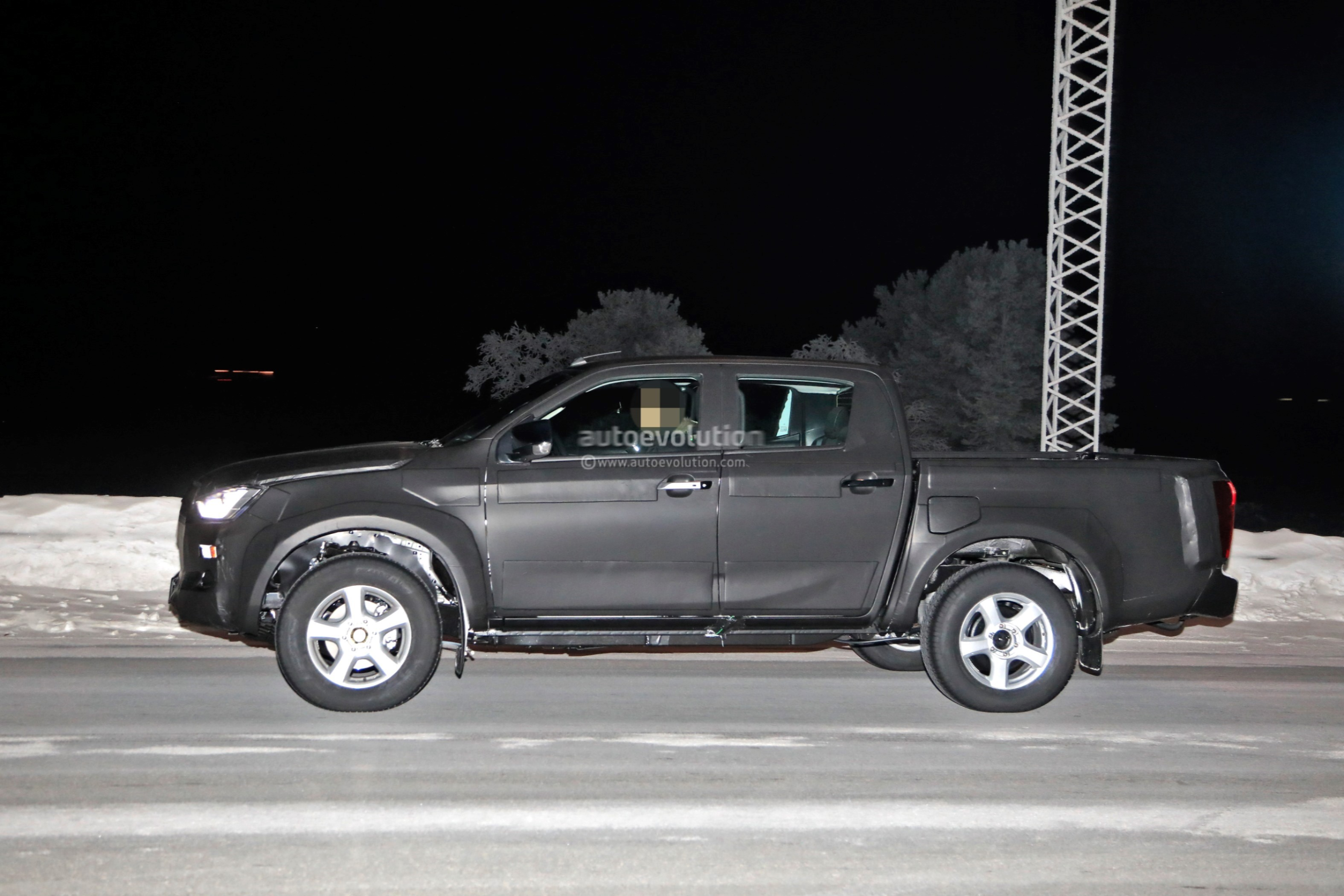 2020 Isuzu D Max Pickup Truck Spied With Full Led Headlights